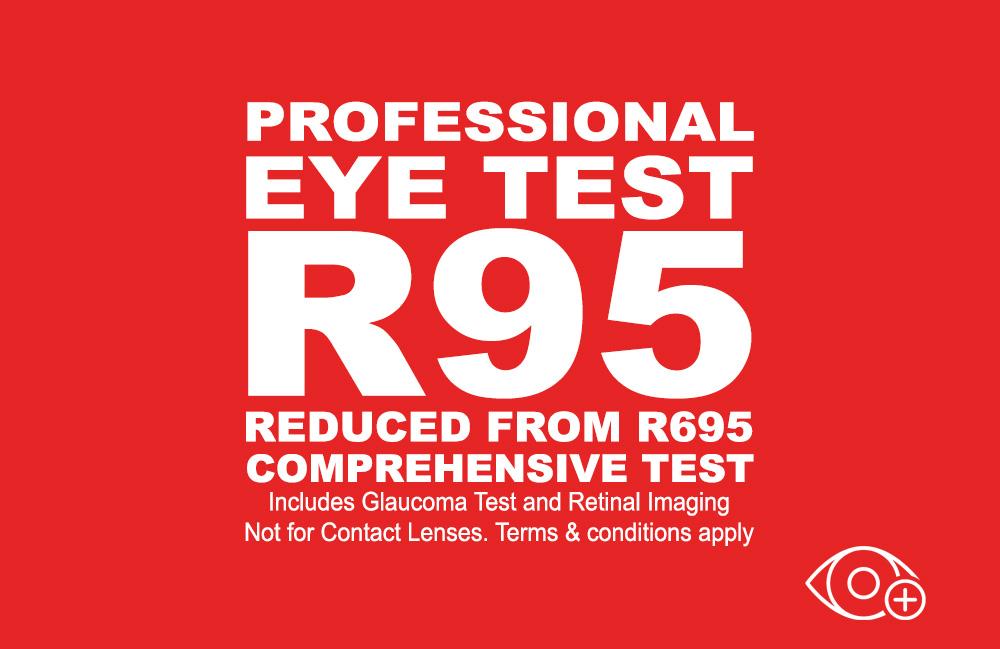 R95 Comprehensive Eye Test
