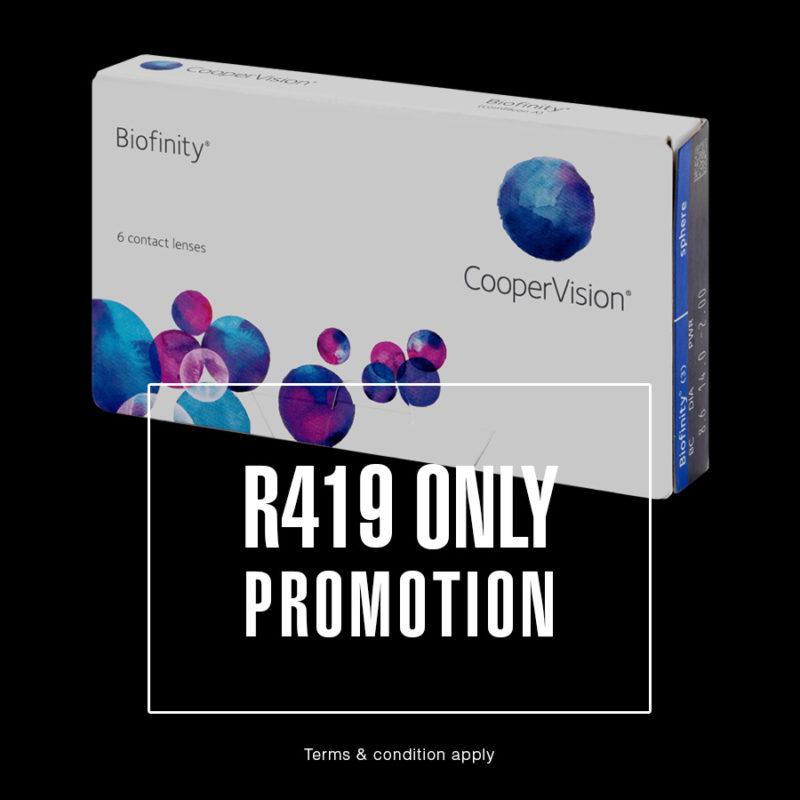 Biofinity Promotion